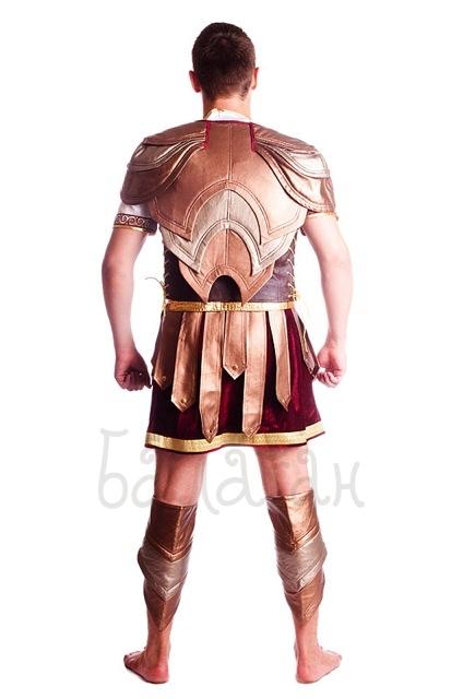 Костюм спартанца напрокат