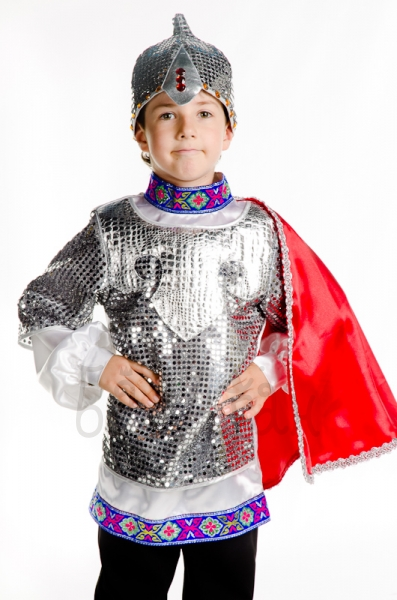 Strongman Hero Russian story Party costume for little boy
