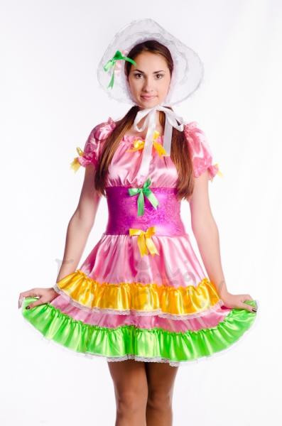Little doll short dress costume for woman