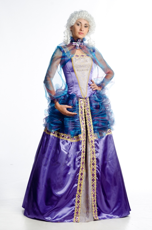 Marie Antoinette history style costume for woman