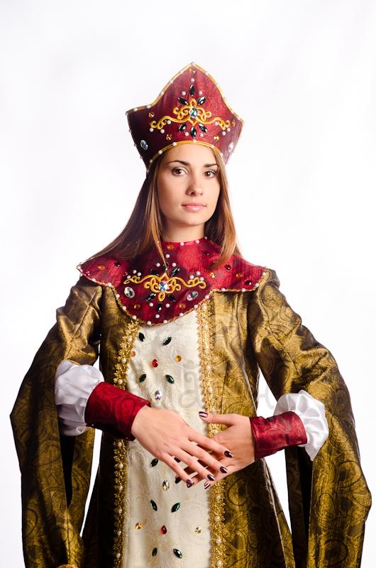 Костюм русской царицы