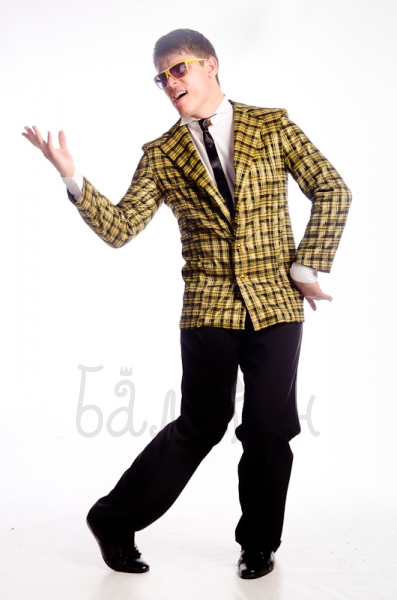 Stylish guy suit costume for man