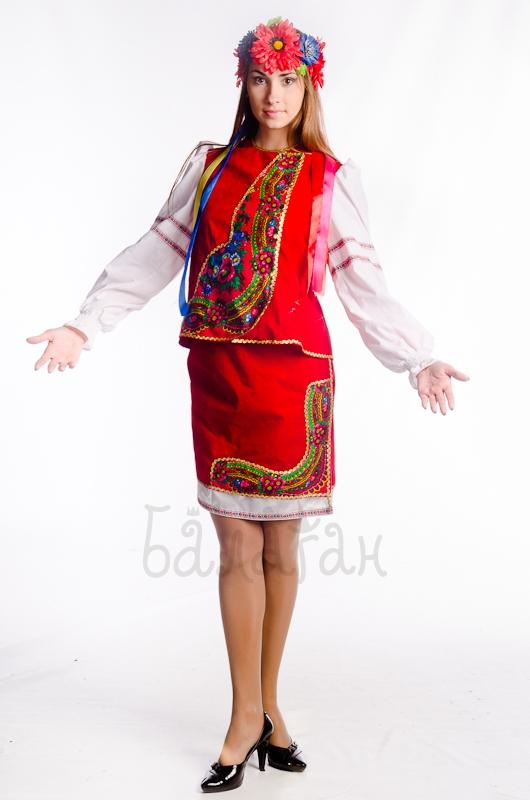 Костюм украинки слобожанский