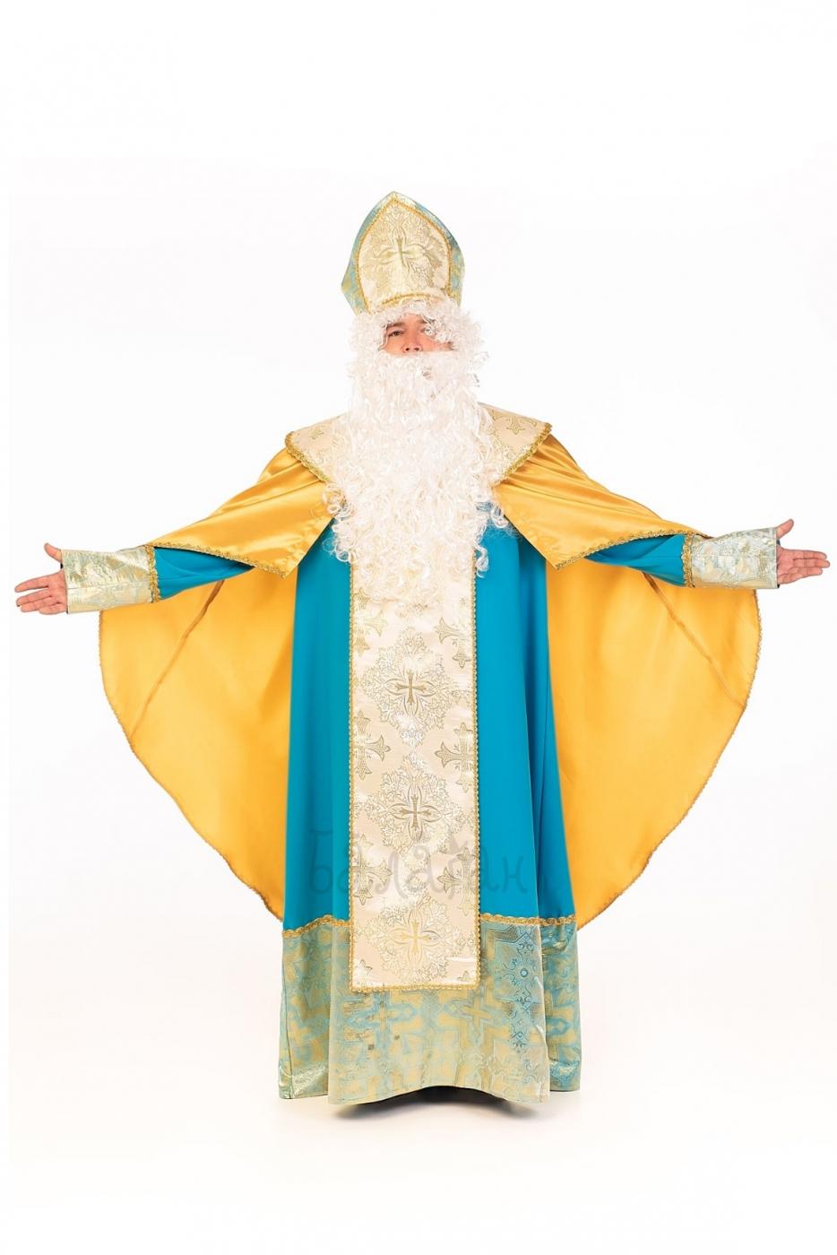 Костюм Святого Николая люкс