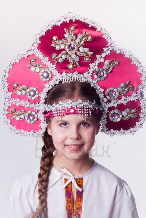 "Kokoshnik headpiece ""Zabava"" Accessories"